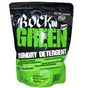 rock in green