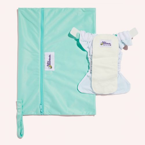baby beehinds wet bag aqua marine