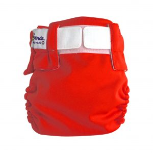 baby behinds magic all velcro red