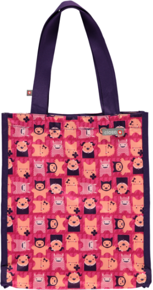 close parent tote edie