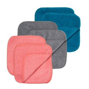 gro via reusable wipes colours