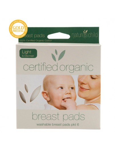 natures child organic cotton breast pads