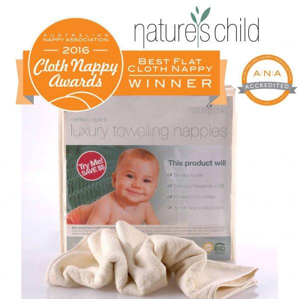 nature's child organic cotton flat