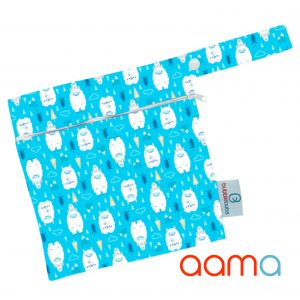 bubblebubs mini wet bag aama yetis