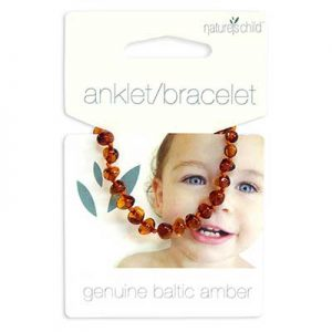 natures child baltic amber bracelet congac