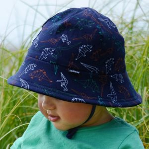 bedhead bucket hat dinosaur