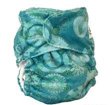 baby beehinds magic all all in one cloth nappy seascape