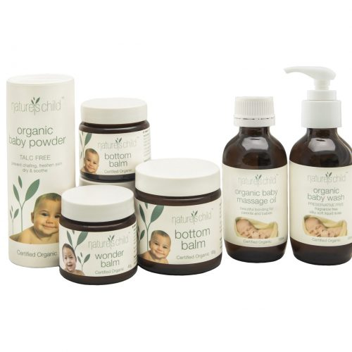 natures child organic baby range