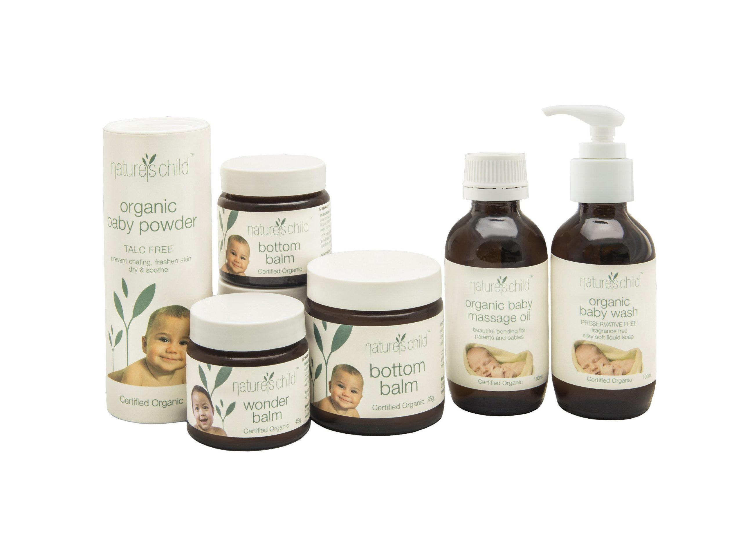 natures child organic baby range