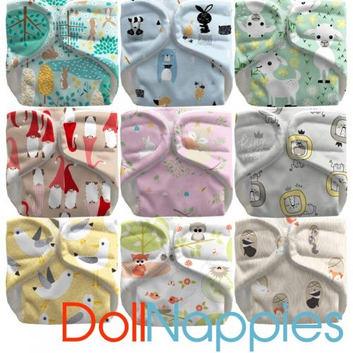 Bubblebubs reusable doll nappies