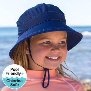 Bedhead beach bucket swim hat