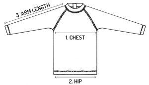 bedhead rash vest size guide