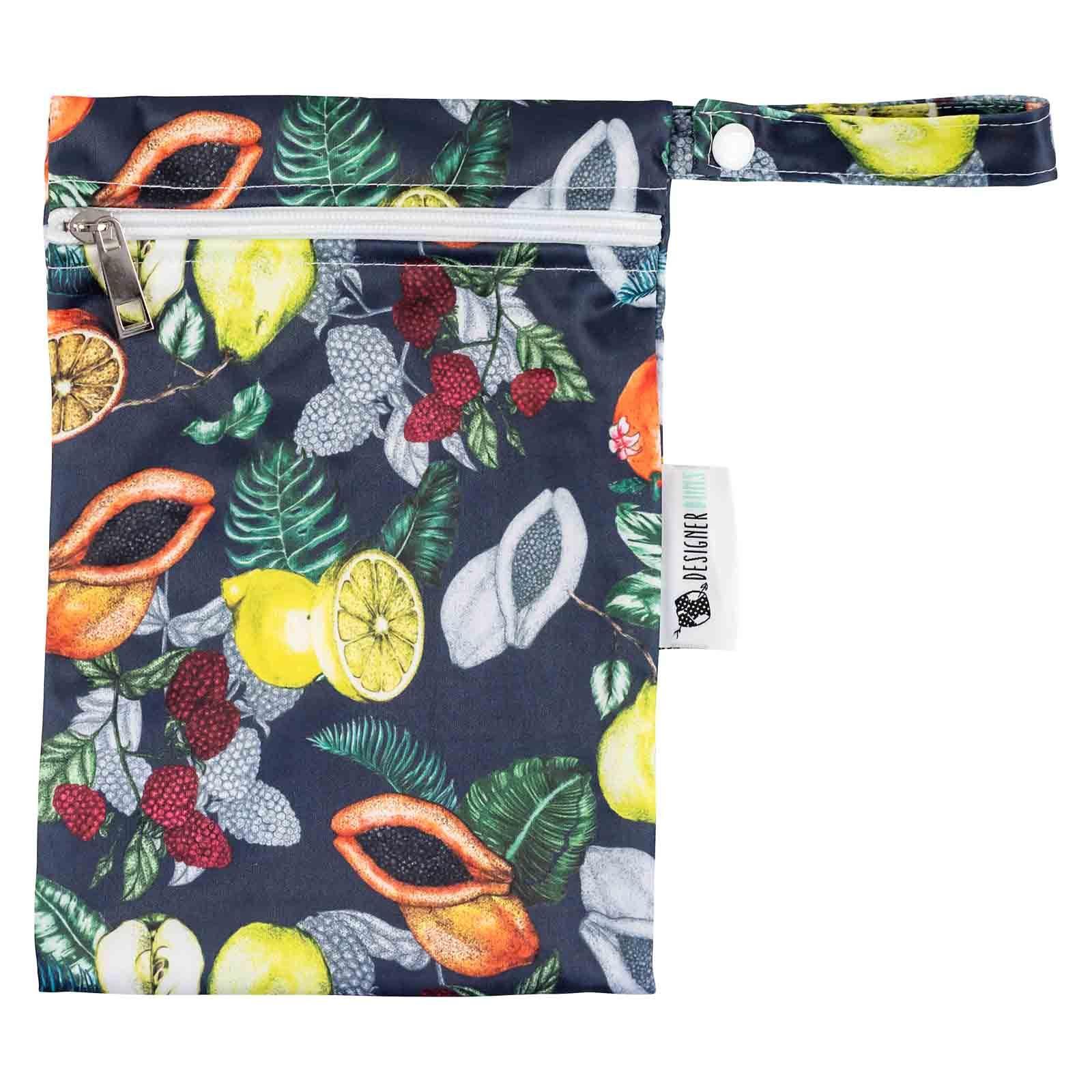designer bums mini wet bag dark orchard