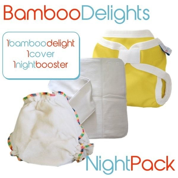 bubblebubs bamboo delight night pack