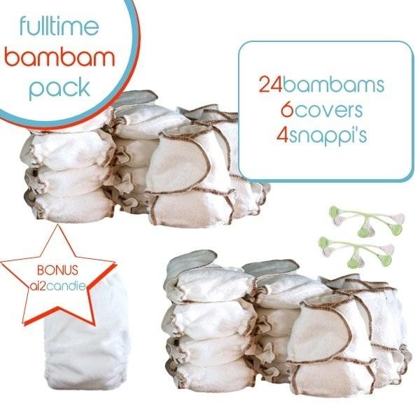 bubblebubs bam bam full time pack