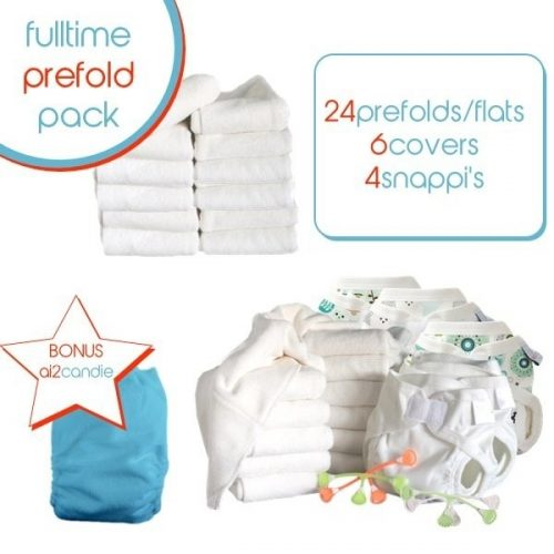 bubblebubs full time prefold pack