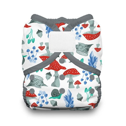 thirsties duo wrap velcro forest frolic