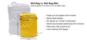 rumparooz mini wet bag comparison