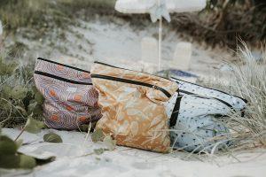 bare + boho double pocket wet bag