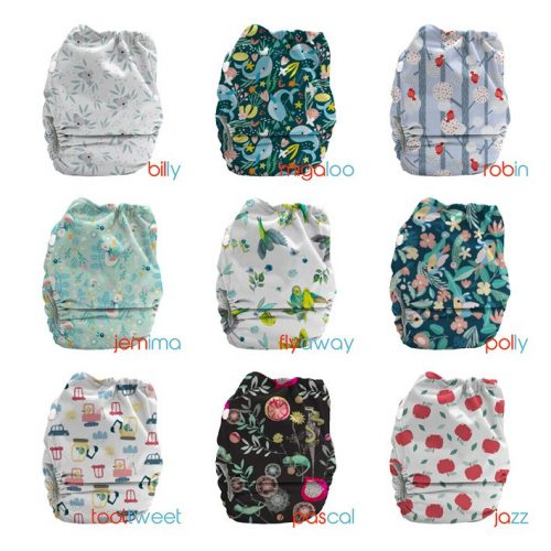bubblebubs candies all in two reuse nappy October 2020
