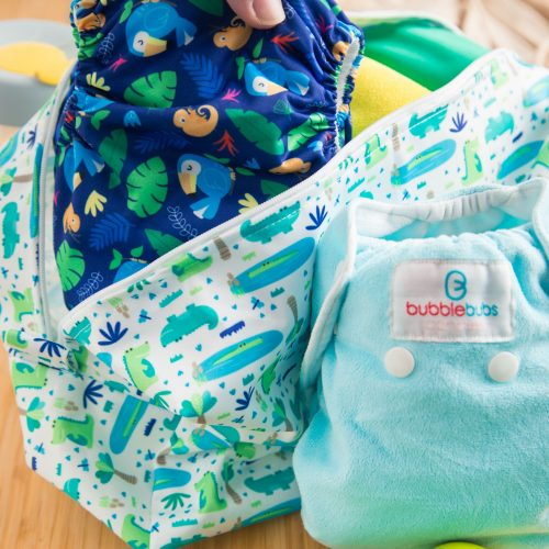 bubblebubs candies nappy pod wet bag swamp lifestyle
